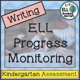 ESL Writing Progress Monitoring, Kindergarten