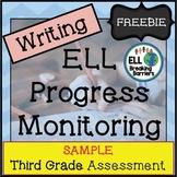 ESL Writing Progress Monitoring, Third Grade (SAMPLE)