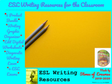 5-Product ESL Writing Tools Bundle for Middle and High Sch