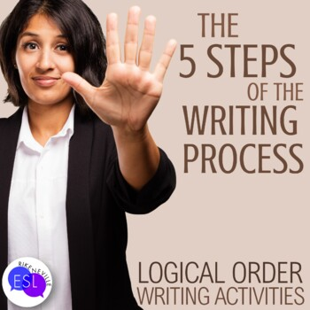 Five Steps of the Writing Process:  Logical Order Activities
