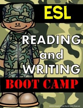 ESL Writing from a Prompt BOOT CAMP (1st-2nd Grade)