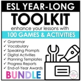 ESL EVERYTHING BUNDLE | 100 Engaging Games & Activities fo