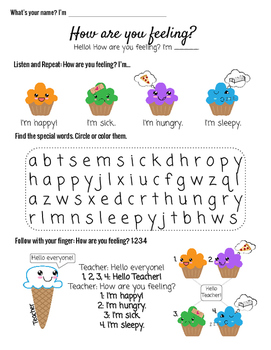 ESL Young Learners B3 How are you feeling?