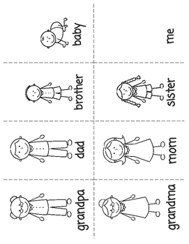 ESL Young Learners Family Flashcards