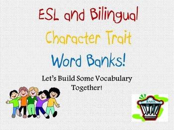 ESL and Bilingual Word Banks: Internal and External Character Traits