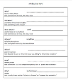ESL and Grammar Game - Silly Sentences