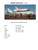 Space Shuttle and Carrier - By the Way ESOL prompt, sub plans