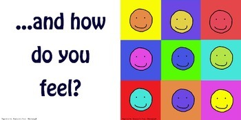 """ESL or EFL book, """"How Are You?""""  Teach first words and emotions"""