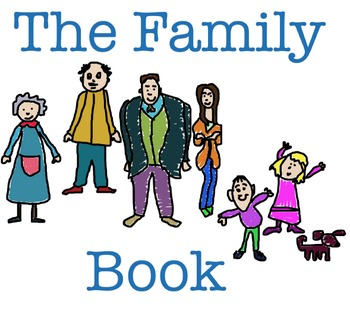 "ESL or EFL book, ""The Family Book"" for kids ages 3 and up"