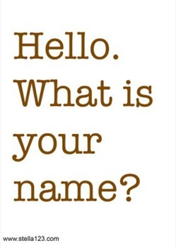 "FREE ESL emergent reader ""What Is Your Name?"" plus free learning pack"
