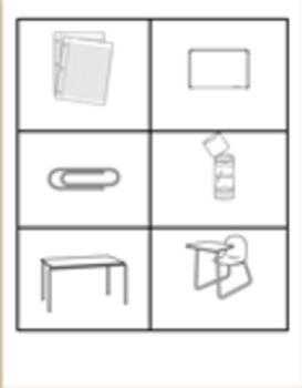 ESL classroom vocabulary & numbers practice activities