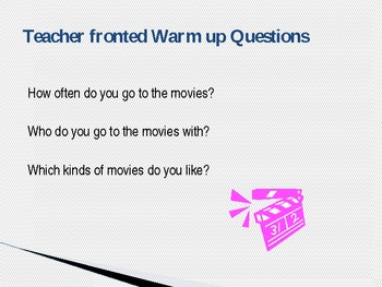 ESL conversation lesson Movies