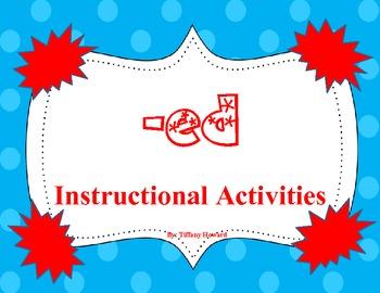ESL -ed suffix Instructional Activities