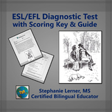 ESL/EFL Diagnostic Test with Scoring Key & Guide