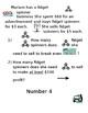 ESL friendly System of Equation word problems