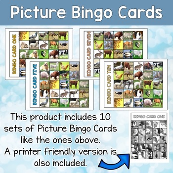 ESL bingo game about Farm animals for teens