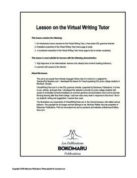 ESL grammar checker tutorial