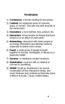 ESL in Austin: SXSW