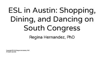ESL in Austin: Shopping, Dining, and Dancing on South Congress