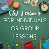 ESL lessons for individuals or small groups / kids