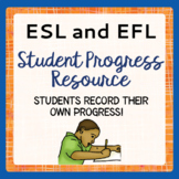 ESL Writing Activities Student Progress