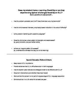 ESL or ELL students: Comprehensive Guide for Educators