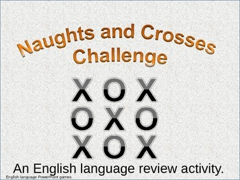 ESL powerpoint games Crosswits pre intermediate grammar questions