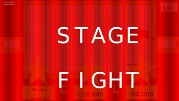 ESL powerpoint games Stage fight comparatives game