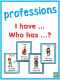 ESL professions  I have ... Who has ...? game
