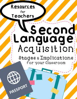 ESL Second Language Acquistion stages and ESL levels