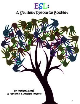 ESL student resource book...