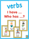 ESL verbs  I have ... Who has ...? game