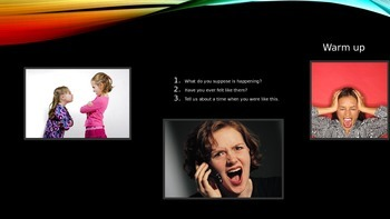 ESL/EFL Discussion Activities:  Anger