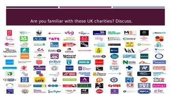 ESL/EFL Discussion Activities:  Charities