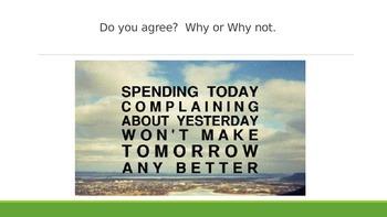 ESL/EFL Discussion Activities:  Complaining