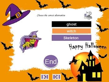 ESL/EFL Halloween PowerPoint