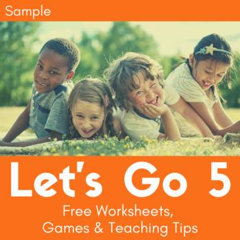 Let's Go 5 - Let's Remember Worksheets (FREEBIE!)