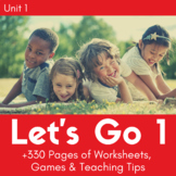 Let's Go 1 - Unit 1 Worksheets (+190 Pages!)