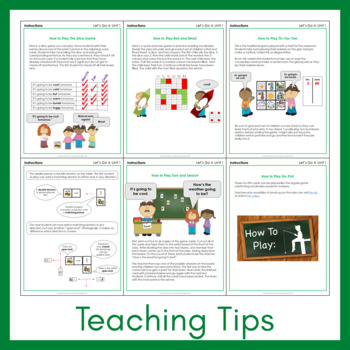 Let's Go 4 - Let's Remember Worksheets (FREEBIE!)