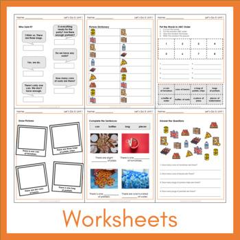Let's Go 5 - Unit 1 Worksheets (+240 Pages!)
