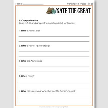 Nate the Great, an ELT Novel Study for Korean Students