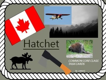 HATCHET NOVEL TASK CARDS