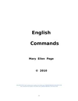 ESL/LA Commands