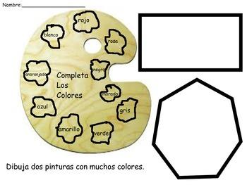 ESL/Spanish practice of colors/art