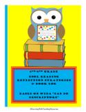 ESOL READING STRATEGIES (Based on WIDA Can Do Descriptors) & BOOK LOG