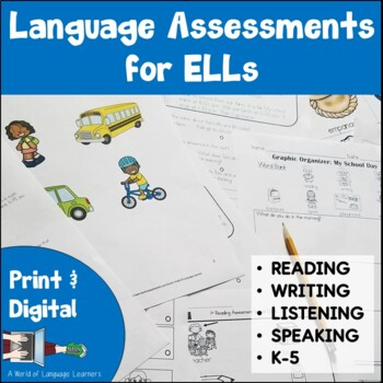 ESOL Assessments Bundle