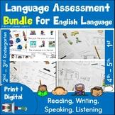 ESOL Assessments Bundle
