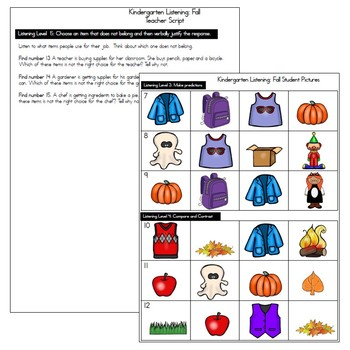 ESOL Assessments Kindergarten