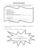 ESOL/ ESL Career Presentation Project Rubric