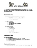 ESOL/ ESL MTV Cribs Project for Home/ Furniture Vocabulary